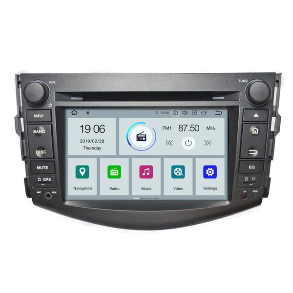 COIKA Android 9.0 Quad Core 2+16G RAM Car DVD Multimedia Player For Toyota RAV4 2007-2011 GPS Navi Radio WIFI 4G DVR RDS BT 4K Video