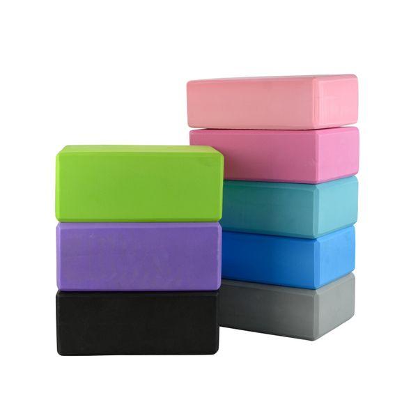 8 CM EVA Yoga Blocks Bricks Interesting Foaming Foam Home Exercise Fitness Workout Health Gym Practice Tool