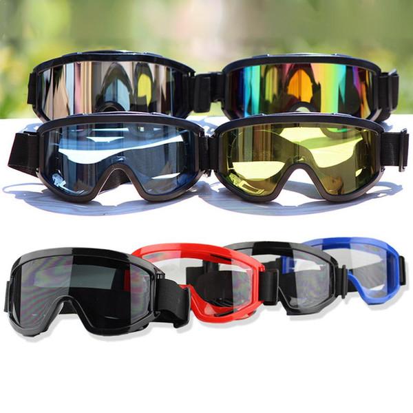 Óculos de Motocross Universal Óculos Óculos de Esqui Esporte Eye Ware MX Off Road Capacetes Gafas Óculos Para Motocicleta ATV DH MTB