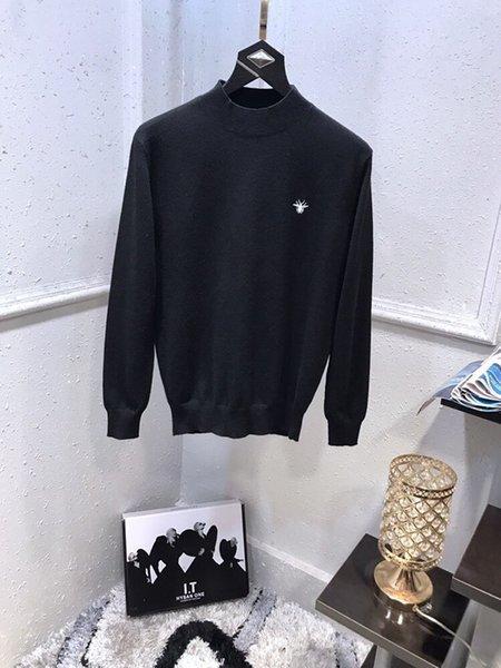 lana nueva llegada mezclas mens suéteres para hombre Cardigan géneros de punto Hoodies para hombre pullover 1974 * 3630sanxun1
