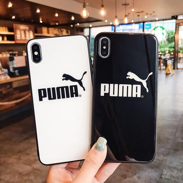 Двухцветный чехол из белого стекла для iPhone 6 6s 7 8 8plus XR X задняя крышка для Apple iphone x xr 7plus чехол для iphone xs max