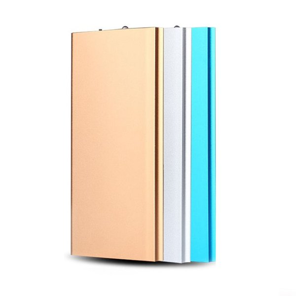 Super Slim 20000mAh Power Bank Portable Ultra-thin Polymer Powerbank battery power-bank With LED Light for Xiaomi Mobile Phone