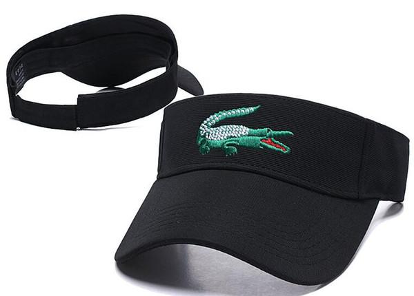 Outdoor men women Visor Sun Hat mens designer Sunscreen Sports Tennis Cap Fashion Lady Travel Beach Empty Top Hat bone cap casquette Sunhat