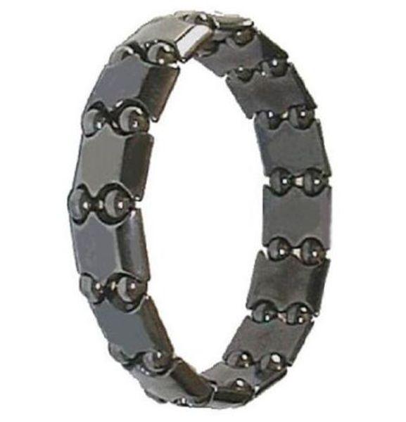 2019 new arrival 100pcs hot selling SALE! Pearl Black Magnetic Hematite Bracelet Fashion Pain Therapy Arthritis Bead