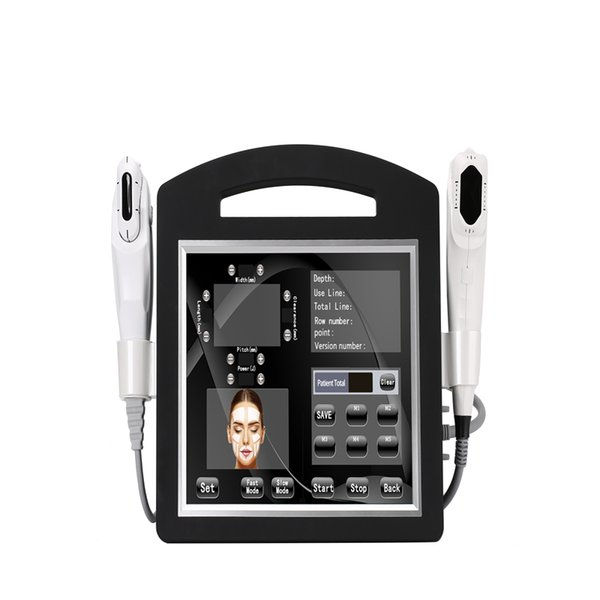 налог ЕС бесплатно Новая 2D HIFU + 4D ультразвуковая абляция Hifu Face Lift машина Морщины оборудование для удаления