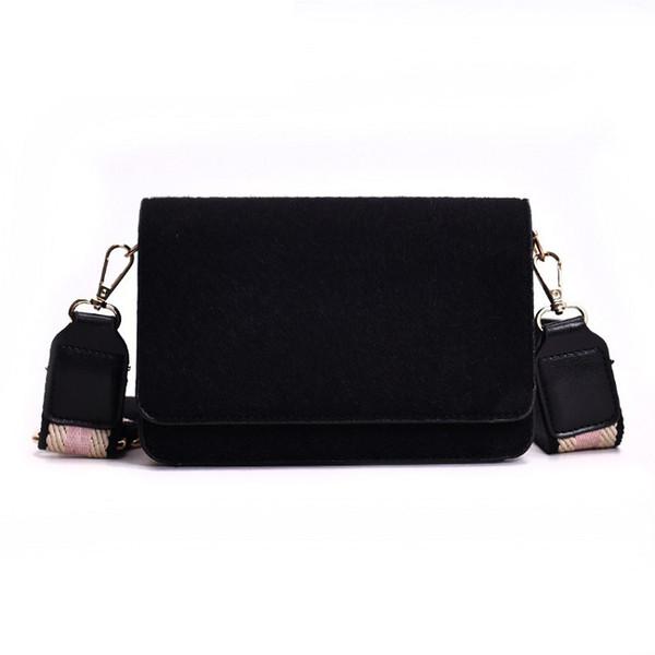 good quality Korean Style Leopard Women Shoulder Bag Pu Leather Handbag For Girls Fashion Wide Shoulder Strap Messenger Bag Female