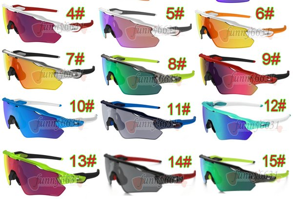 newest summer man sport Cycling sunglasses spectacles women Bicycle goggle Sports Outdoor colours Sun Glasses 15colors free shipping