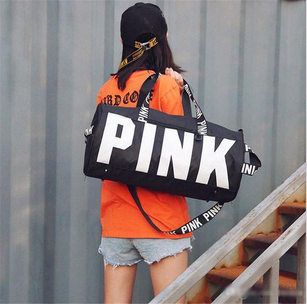 Women Sport Gym Shoulder Bag Travel Luggage Duffel Handbag Yoga Tote Waterproof