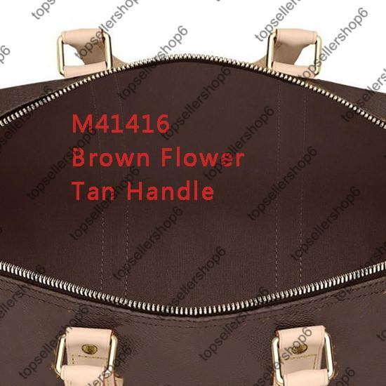 5 Brown Brief Blume / Tan Griff