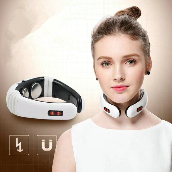 top popular Electric Pulse Back Neck Massager Pain Relief Tool Health Care Relaxation Multifunctional Back Neck Massager RRA1163 2021