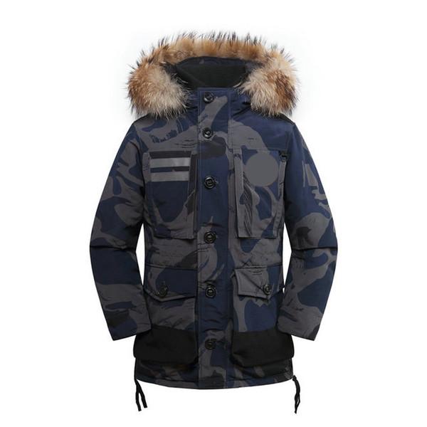 nouveau Canada mens veste hommes designer de haute qualité d'hiver doudoune 80% duvet d'oie veste à capuche chaud extérieur coupe-vent manteau d'hiver de