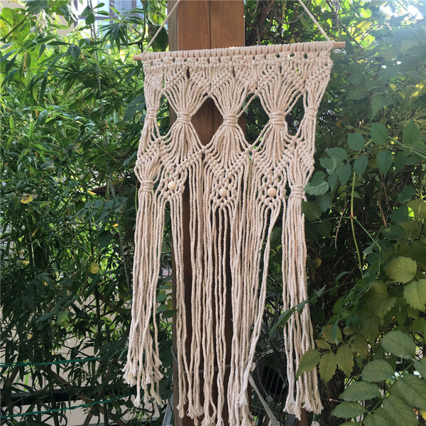 Macrame Wall Hanging Tapestry BOHO Chic Home Deco Interior Wall Decor Bohemian Ethnic Apartment Dorm Room Art Decor Wedding