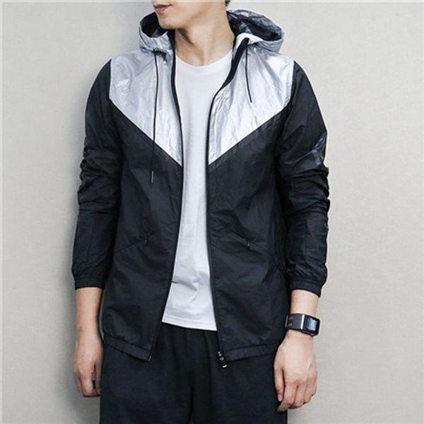 Correndo desporto casacos para Designer Mens Womens Marca Primavera Outono Windbreaker Zipper ativos Casacos Windbreakers Top Quality B100290V