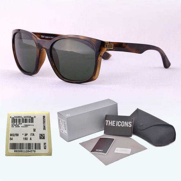 High quality Mirror glass lens Sunglasses for Men Women Brand designer Metal hinge Vintage Retro Sun Glasses Eyewear with box and label