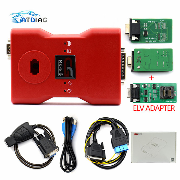 Hot sales CGDI Prog MB for Benz Car Key Add Fastest for Benz Key Programmer Support All Key Lost with ELV adapter