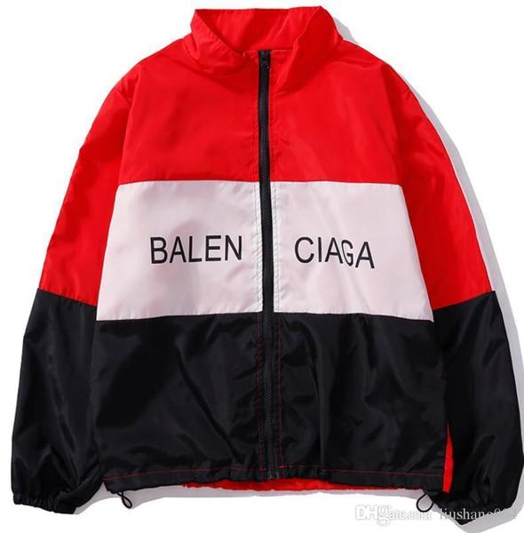 Liebe Gezeiten Marke Hai Mund Stickerei Baumwolle Jacke Frauen / Männer Baseball Uniform dicken Mantel MA1 Fluganzug