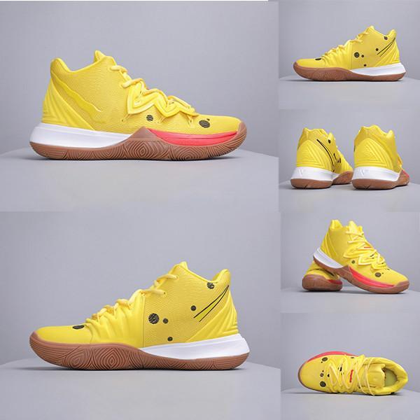 2019 Un Nouvel Arrivants Hot Irvins Limited 5 Hommes Chaussures de Basketball 5s Mode Hommes Baskets Baskets Chaussures de Sport Taille 40-45