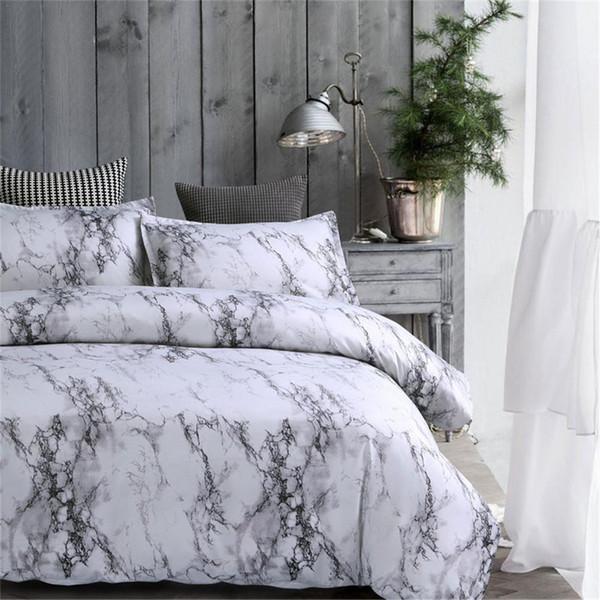Twin / Queen / King Grau Schlafzimmer Tröster Bettwäsche-Sets Bettdecke Bettwäsche Set Bettwäsche Bettbezug Tagesdecke Kissenbezug