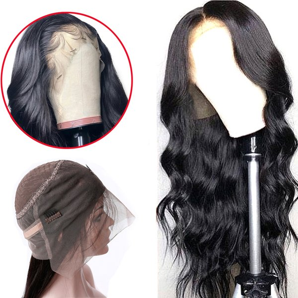 360 Lace Frontal Wig Pre Plucked With Baby Hair Remy Brazilian Body Wave Lace Frontal Human Hair Wigs For Black Women