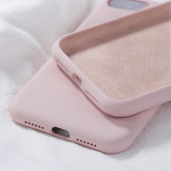 coque iphone xr silicone beige