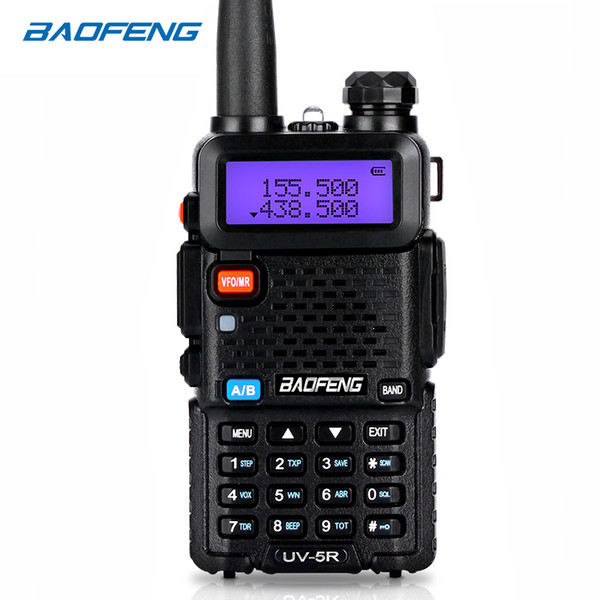 BAOFENG Walkie-Talkie UV-5R Zweiweg cb Radio Upgrade-Version baofeng uv5r 128CH 5W VHF UHF 136-174MHz 400-520Mhz