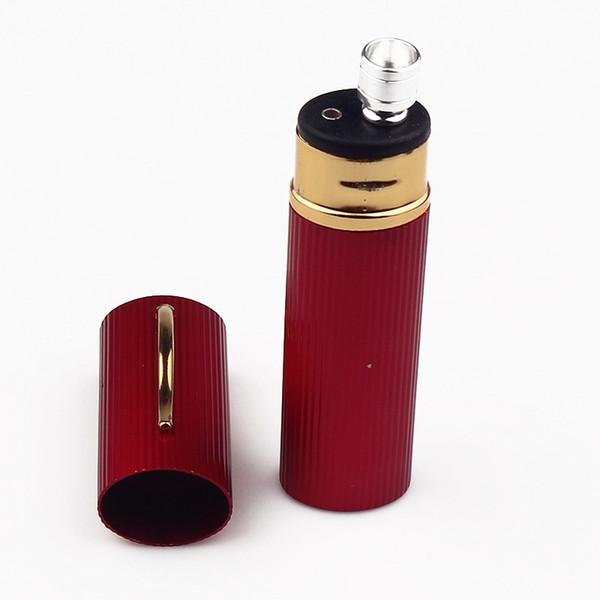 Mini Metal Bong Pipe Hookah Smoking Pipes Metal Tobacco Water Filter Water Smoking Pipe Free Shipping