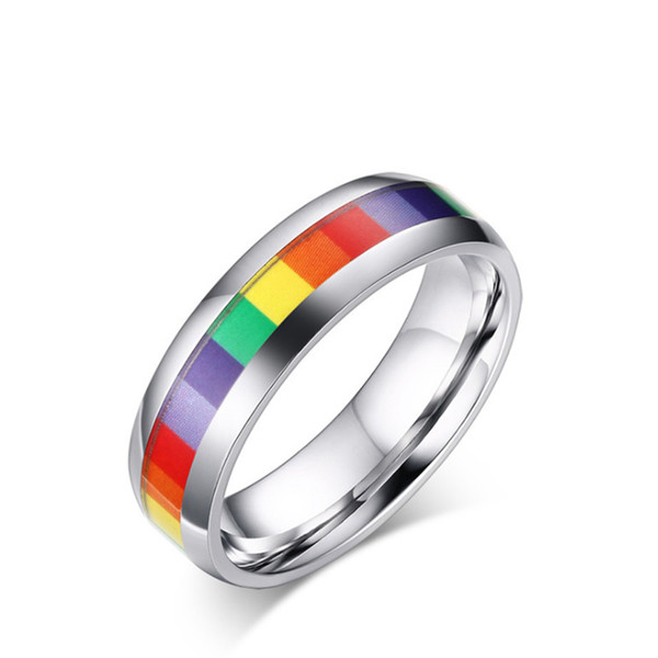 Stainless Steel Rings Simple Wedding Couples Rings for women man Gift high quality ring jewelry for engagement Lovers