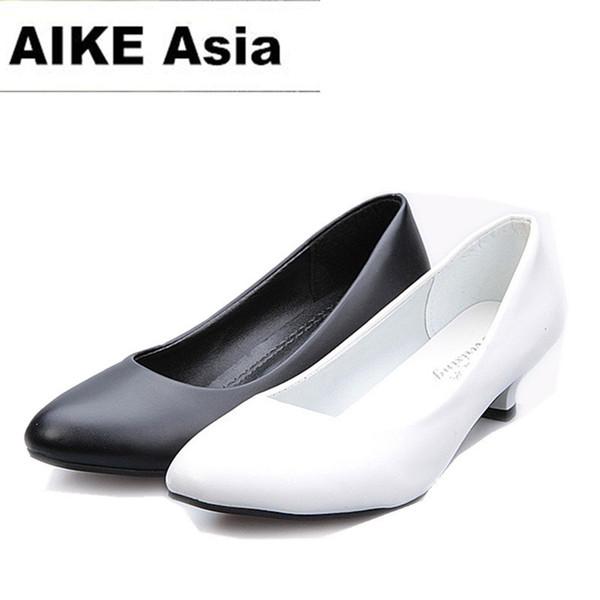2019 2018 Women Shoes Pointed Toe Pumps Suede Leisure Dress Shoes High Heels Boat Wedding tenis feminino Matt 5cm/4cm