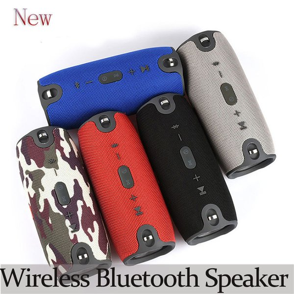 NEW Portable Wireless Bluetooth Speaker Waterproof Stereo Loud Subwoofer Speaker Outdoor Mini Column Speakers for Phone