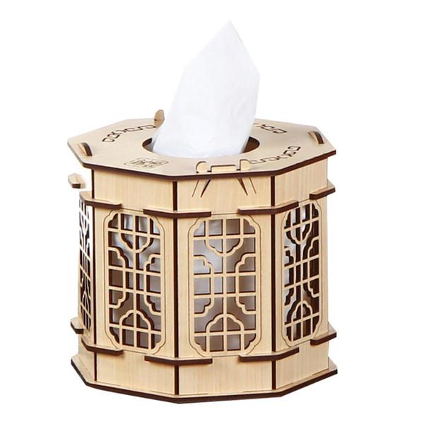 Wooden Tissue Box Napkin Holder Tissue Box Case Home Kitchen Paper Holdler Storage Accessories Holder