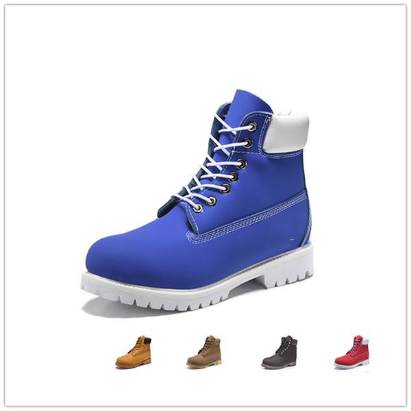 Original mens women winter boots chestnut black all white red blue Grey green womens men designer boot size 5.5-11 fast shipping
