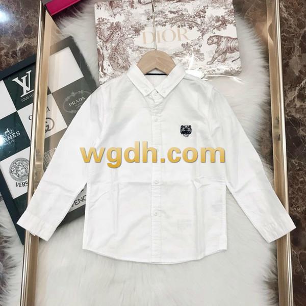 584e538174dfb 2019 Enfants Vêtements Veste Garçons Chemise Chemisier pur coton à treillis  à manches longues - 22