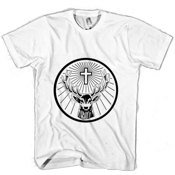 Jagermeister Libre Divertido Ocasional Unisex Camiseta De La Mujer Hombres Superior Envío 4Hqrx4