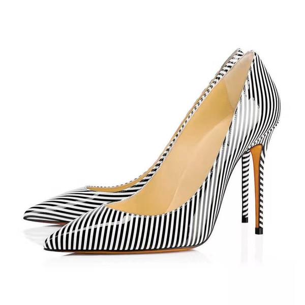 Zebra spitze Zehen