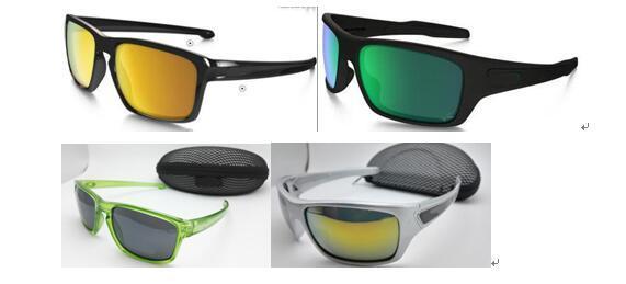 ЛЕТО CYCLING НОВИНКИ Mens Brand Открытый спорт солнцезащитные очки Мода Дизайнер Классический Dazzle цвет очки очки с коробкой