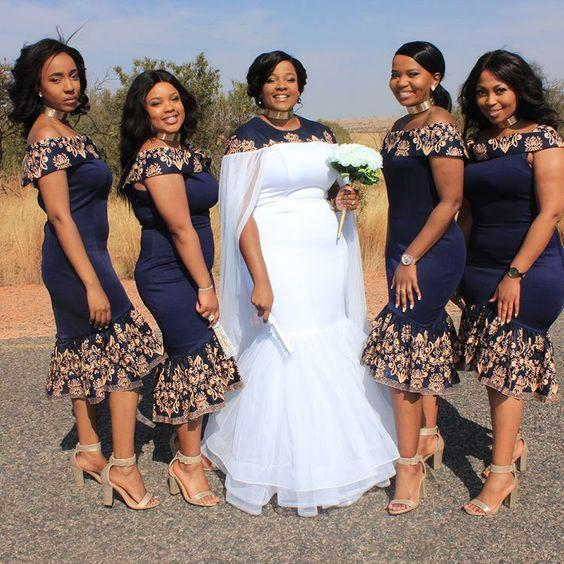 order online on feet images of best site Charming Tea Length Navy African Bridesmaid Robes Dresses Off Shoulders  Short Sleeves Lace Cheap Robes De Demoiselle D'Honneur Prom Dress Grey ...