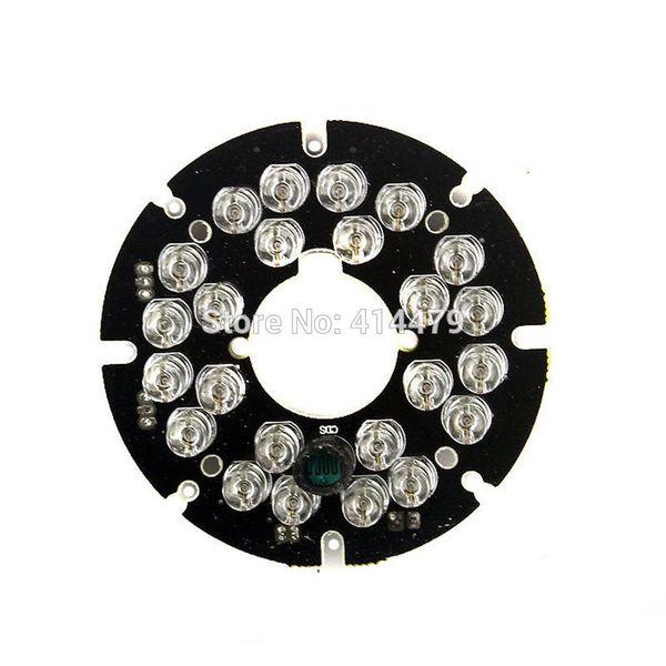2PCS/Lot 24 PCS LEDs 5mm Infrared IR 90 Degrees Bulbs Light Board 850nm For CCTV Security Camera
