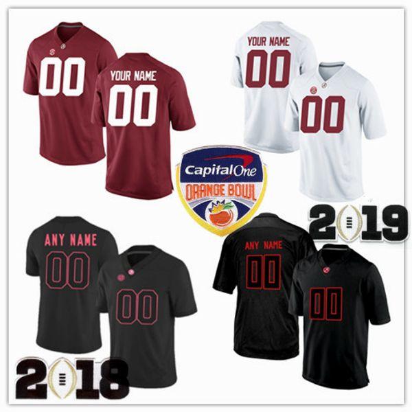Benutzerdefinierte Alabama Crimson Tide Fußball Jersey Männer Frauen Jugend Kind Größe S bis 4XL 5XL Evan Neal Trey Sanders Tagovailoa Jeudy Pierce Quick