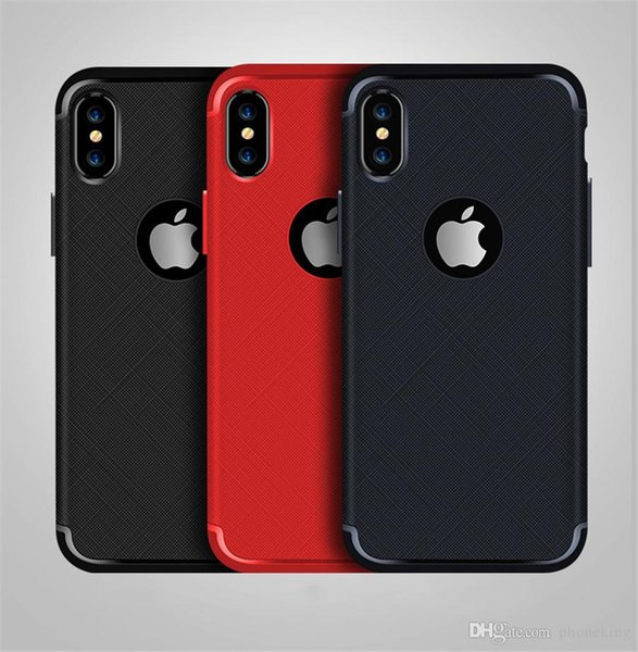 High Purity PUB IphoneX Case 0.04MM No Fingerprint Rusled Metal Protect The Cell Phone For Dustproof Factory Price
