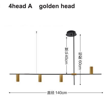 4 teste d'oro