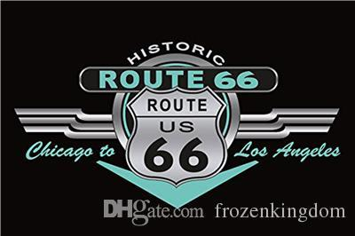 route 66 here coffee sleep 20*30cm blond beauty motorbicycle Tin Sign Coffee Shop Bar Restaurant Wall Art decoration Bar Metal Paintings