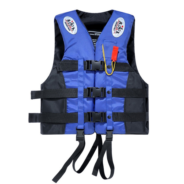 Portable Waterproof Oxford Clothes Life Jacket Blue