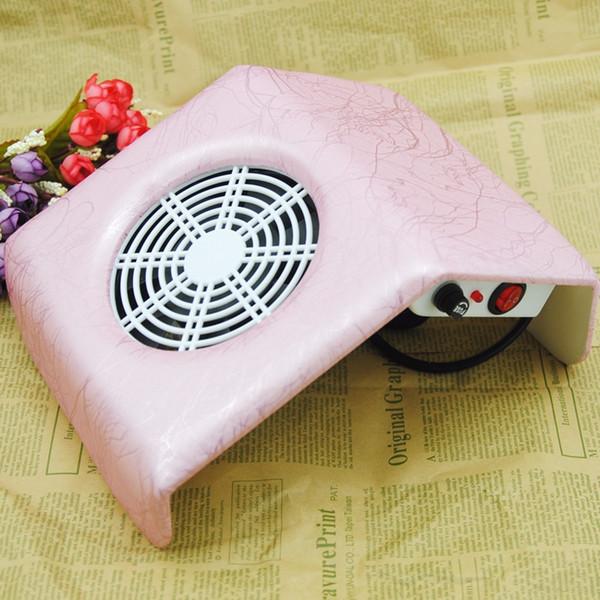 Prego Coletor De Pó Manicure Set Máquina UV Gel Unha Polonês Cleaner Manicure Ferramentas Aspirador de pó kit Para Nail Art Poeira Limpo