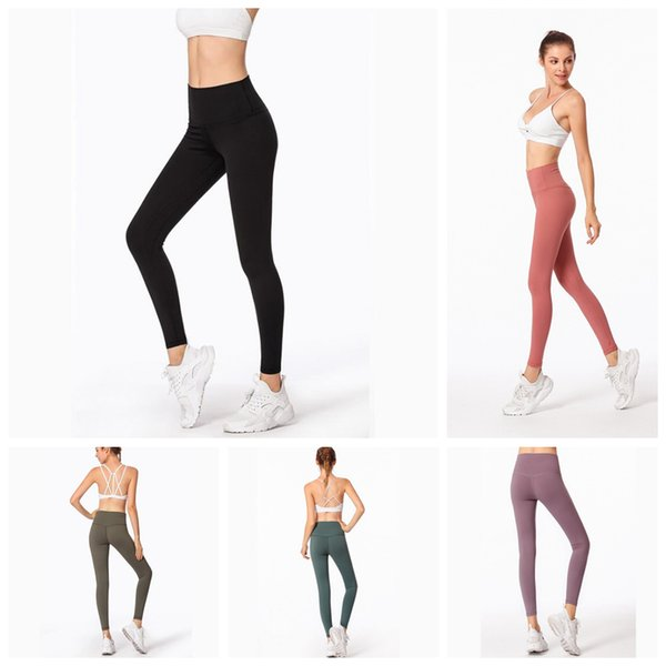 Gym Yoga Leggings 8 Colors Sports Elastic Yoga Pants Compression Tights Fitness Women Running Sportwear Trousers new OOA6595