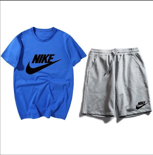 best value really comfortable hot sale online Acheter Survêtements Pour Homme Nike T Shirt + Shorts Ensembles Survêtement  Survêtement Sportswear Eté Sportswear Femme Manches Courtes Casual ...