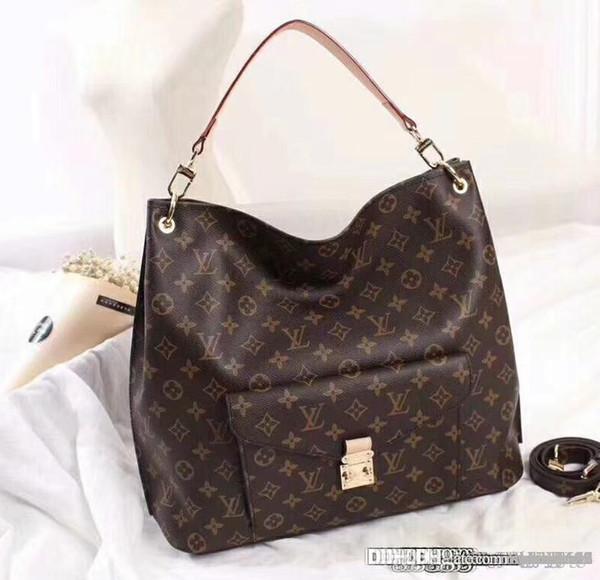 LOUISVUITTON1F Женщины Нового универсальной моды атмосфера сумка одного плеча мешка с большой емкостью AB