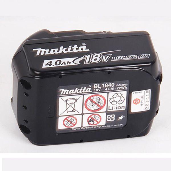 Giappone Makita Batteria al litio originale 18 V BL1830 Batteria ricaricabile BL1840B Display carica batteria BL1840B