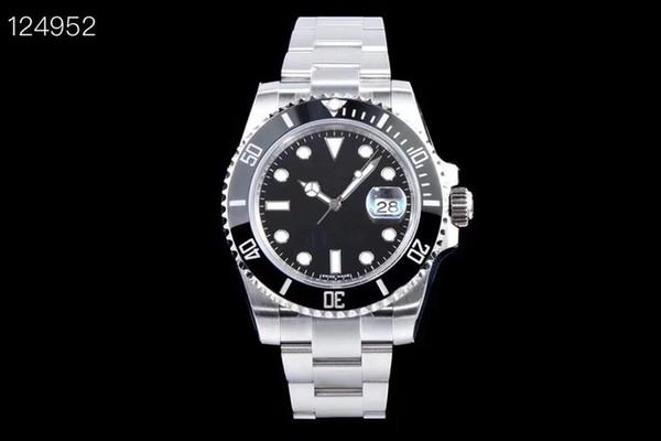KS lüks erkek saatler 40mm safir erkek tasarımcı saatler erkekler için 2836 montre de luxe otomatik mekanik İzle