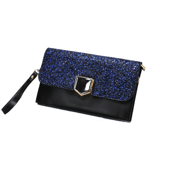 Trendy envelope Style Wallet Hold the bag obliquely A New Kind of Wide Wallet New Banquet Handbag