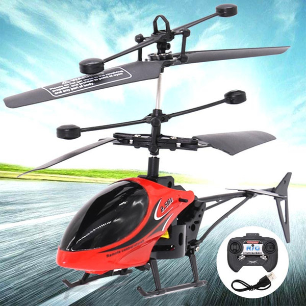 Remote Eletric Flying Helicopter Flashing Lights Hand Controlled Aircraft Outdoor Toys for Children Gifts @ZJF